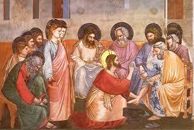 Gesù lavanda dei piedi GIOTTO